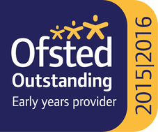 Ofsted Outstanding Early Years Provider logo